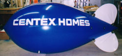 Advertising Blimps - 11ft. - Centex Homes